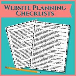 Website Planning Checklists